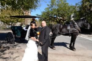 Orchestra Wedding Package, Reynolds Treasures, Hanahan — horse n carriage