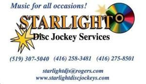 Starlight Disc Jockey Services, Shelburne