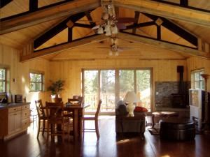 1 Day Meeting Package in beautiful Central Oregon, HomeStead Lodge, Bend — Upstairs Treetop Suite