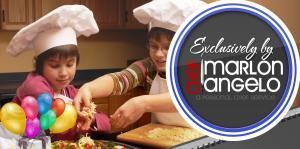 Kids Pizza Party (Cooking Lesson), Chef Marlon Angelo, Steubenville — Pizza Party Banner
