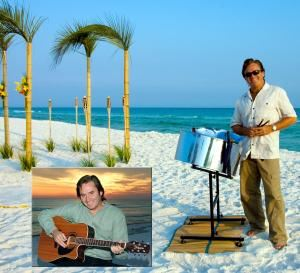 Chuck Lawson DJ & Live Music - Destin, Destin — Chuck Lawson provides Professional Live Music & DJ for Wedding Ceremonies, Receptions, Rehearsal Dinners, Private Parties, Corporate Events, Special Events, Festivals, & More! Live Steel Drums, Guitar, Conch Shell, & More! He also provides full DJ service- Free of charge. You get the Best of Both for the price of One! Everyone hears music they know and love... Everyone!!! Caribbean, Calypso, Reggae, Rock, Country, Classic Rock, Oldies, Pop, Dance, & More! Live-Solo with a full band sound, Duo, Trio, Full Band & DJ available. Book Chuck & ALL your Music worries go AWAY!