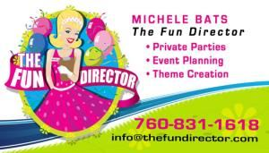 The Fun Director, Rancho Mirage