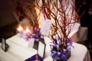 Gold Package, Details by Danielle, Bronx — Wedding wishing tree