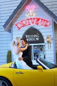 Your Intimate Drive Thru Wedding, Vegas Events Int'l, Las Vegas — Your Intimate Drive Thru Wedding