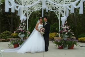 The Savoy Gardens, Merighi's Savoy Inn, Vineland — Our outdoor gardens is the perfect space for your outdoor ceremony, bridal party pictures or even an outdoor cocktail hour event.