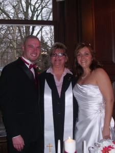 Tammy Petruccelli Wedding Officiant, Newark — My most recent couple married Bellevue Mansion, Wilmington, December '12