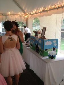 Spectacular Sundae Party, Ben & Jerry's Catering, Chapel Hill — Wedding Sundae Bar