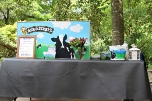 Ice Cream Social, Ben & Jerry's Catering, Chapel Hill — Ice Cream Social Set-Up