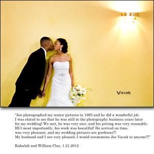 Vavak Photography, Saint Louis — Kahalah and Bill