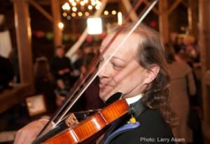 Violinist/Fiddler  Professor Fairbanks, Burlington