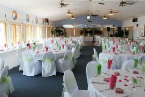 Hall Rental Packages - Friday/Sunday, Parkway By The Lake, Ingleside — Room picture with chair covers