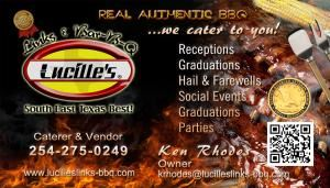 Lucille's Links & Bar-B-Q, Harker Heights — Lucille's BBQ Caterer/Vendor