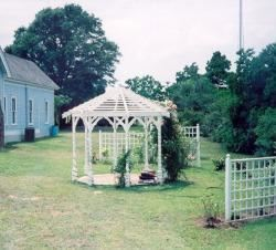 Gazebo Rental, Millard's Crossing Historic Village, Nacogdoches