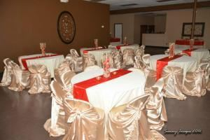 College Graduations and Celebrations/Parties/Receptions, Elegance Events Venue, Houston — Formal Set Up1