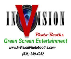 InVision Photobooths, Warrenton — InVision is more than just a photo booth company.  Here you can enjoy the romance and nostalgia of a Standard Photobooth with pleated backdrop and photostrips; or you can kick it up a notch with fantasy green screen images that are limited only by imagination.  Our Dance Heads Video Studio is the ultimate in portable entertainment.  Your guests can star in the own music DVD and it's guaranteed to be a hit!  No Talent Required!!  Visit us at www.InVisionPhotobooths.com to learn more.  Our Success is Measured in Smiles!