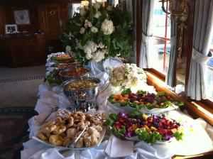 Elegance To Simplicity, Manassas — Aboard Yahts we offer catering for special occasions