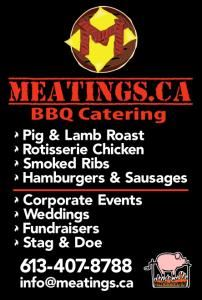 Meatings BBQ Catering, Ottawa