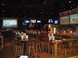 Entire Facility, Buffalo Wild Wings VCC Glen Allen, Glen Allen — This is our bar, the perfect place to host your next event! You can have parties of 20 or up to 100.