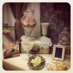 Mashed, Stoney Creek — Vintage candy buffet styled by Mashed.