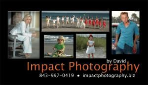Impact Photography, Myrtle Beach — Impact Photography is your full service photography company in Myrtle Beach, South Carolina. We offer coverage for weddings, beach weddings, beach portrait sessions, senior photos, family portraits, commercial photography and other image services. We are honored to be your preferred vendor in Myrtle Beach.