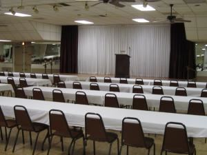 Monday-Thursday Rental $200/hr, Concordia Banquet Hall & Dance Club, Birmingham — Seating for Business Meeting