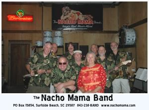The Nacho Mama Band, Columbia