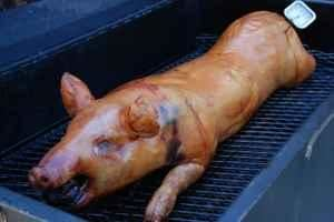 Old Fashioned Pig Roast, Sullivan's, Alexandria — Pig Roast