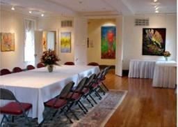 Meeting Room, Page-Walker Arts & History Center, Cary