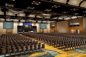 Grand Ballroom F, Hyatt Regency Orange County, Garden Grove
