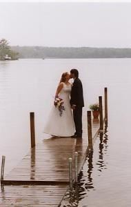 Bronze Wedding Photo Session Package, Samples Photography Kennebunk, Kennebunk — Lakeside Wedding