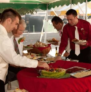 Full Service Buffet Package, Holiday Recreation Center, Inc., Mansfield Center