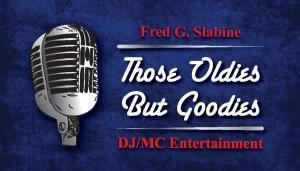 Let The Good Times Roll DJ Party! , Those Oldies But Goodies DJ/MC Entertainment - Boston, Boston — Buisness card