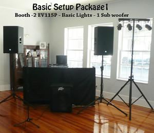 Basic Package for Smaller Events, Century Enterprises - DJ & Emcee Services, Lake Mary — Basic