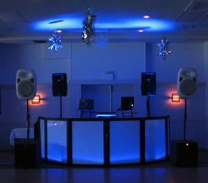 Deluxe Package for  100 to 500 Guests, Century Enterprises - DJ & Emcee Services, Lake Mary — Deluxe Package with Lights