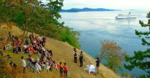 Two Day Wedding Package, Eagles Nest Retreat, Galiano