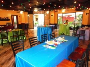 The Rio Room, Rio Plaza, San Antonio — The Rio Room sits adjacent to Rita's On The River and courtyard and is perfect for group dinners, graduation parties, birthday and anniversary celebrations, corporate mixers, baby/bridal showers as well as luncheons and meetings.
