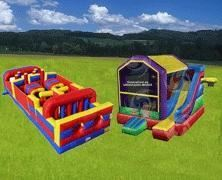 Bouncer Package 2, USA Inflatable/Moonwalk Rentals and Party Rentals - Alexandria, Alexandria