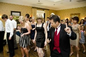 "Carolina Party Professionals, Greenville — A little dance instruction helps motivate some otherwise ""shy"" guests."