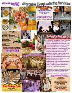 NATIONS CAFE - Affordable Event Catering Services