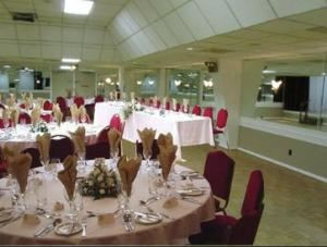 Saturday Rental Package, Concordia Banquet Hall & Dance Club, Birmingham — Head Table at Side of Hall