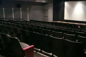 Maple Leaf Cinema, CN Tower, Toronto — State of the art theatre with 3D capability seats 140