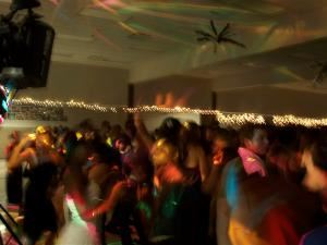 Large Wedding Package, Sound Extremes Mobile DJ, Monroe — peeps dance lights.jpg