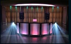 Gold Lounge Wedding Package, DJ KYD - Lighting & More, Boston