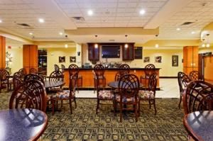 Restaurant, Odessa Holiday Inn, Odessa — Located inside the Odessa Holiday Inn Hotel is the Heritage Restaurant. We provide quality food in a friendly setting, cooked to your specifications and delivered with a smile every time. Enjoy your favorite cocktail or beer as you watch highlights on the sports channel or enjoy the morning news with an excellent rain forest friendly coffee and glass of OJ. 