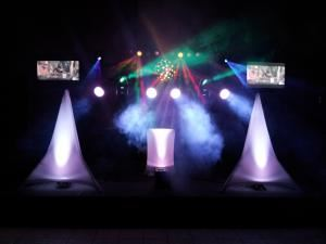 Mega Star DJ systems to fit most medium to large size rooms, S & L Entertainment, Lawrenceville — Mega Light Show