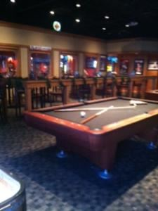 Party Room, Fox & Hound English Pub & Grill, Indianapolis — The Party Room seats up to 75 people, houses 2 pool tables, table-top shuffleboard, and 5 televisions for game watching!