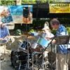 Latitude Adjustment Steel Band, Atlanta — Playing for the VIP (Very Important Parrothead) ticketholders before the Jimmy Buffet concert at Lakewood Amphitheater