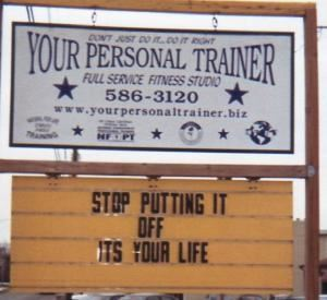 YOUR PERSONAL TRAINER fitness studio