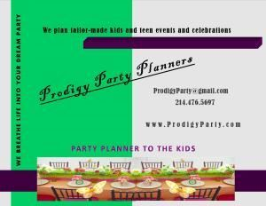 Prodigy Party Planners