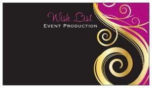 Wish List Event Production